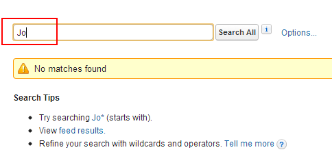 Minimum Charcters in Salesforce Search