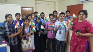 Indian Independence Day Celebrations at an IT company