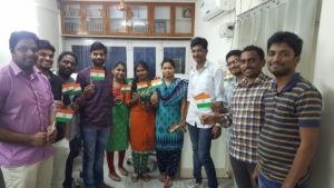 Indian Independence Day Celebrations by CRM Consultants from Dhruvsoft
