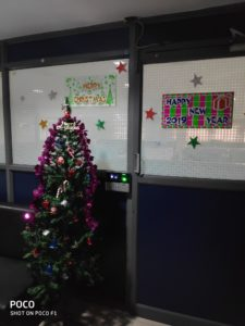 Christmas Celebrations at Dhruvsoft