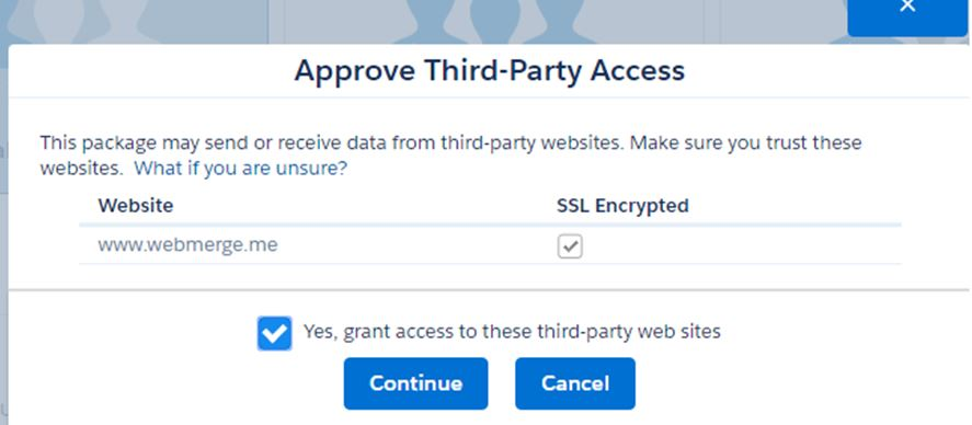 third party access