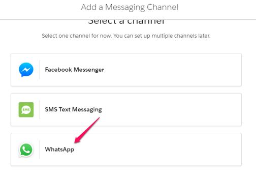 add messaging channel