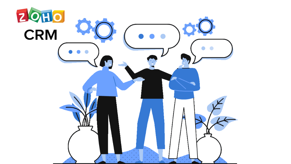 Zoho Solutions for Sales Teams from Dhruvsoft